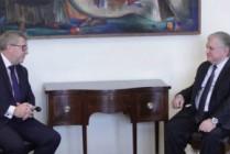 Էդվարդ Նալբանդյանն ընդունեց Եվրոպական խորհրդարանի փոխնախագահ Ռիչարդ Չառնեցկիին