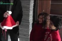 Տոնական նվերներ Գյումրու անօթևան ընտանիքներին