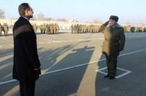 Արդարադատության փոխնախարարը և խորհրդականը այցելել են Գյումրու տեղակայված N զորամաս