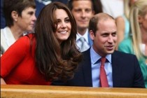 Prince William and Duchesse Kate cheer on Murray at Wimbledon