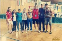 The Armenian boxing team wins two gold and one bronze medals