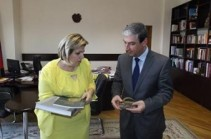 Armenian culture minister proposes expanding cooperation at meeting with Syrian counterpart