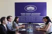 Nagorno-Karabakh deputy FM receives ICRC reps