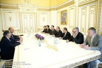 Armenian PM meets with Iraqi Kurdistan minister