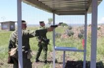 В горах Армении проведены сборы с командным составом соединения ЮВО