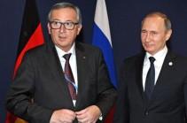 Юнкер и Путин встретятся на ПМЭФ в Санкт-Петербурге