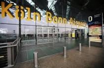 Անհայտ անձը ներխուժել է Քյոլն-Բոնն օդանավակայանի անվտանգության փակ գոտի