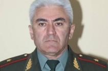 Мера пресечения в отношении генерал-майора Мелсика Чилингаряна была изменена из-за проблем со здоровьем