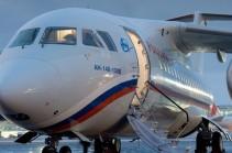 Борт МЧС РФ доставил в Ереван 96 граждан Армении, застрявших на пограничном посту Верхний Ларс
