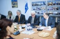 Штайнмайеру представили важную роль гражданского общества в Армении