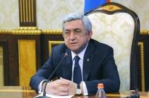 Президент Армении направил телеграмму соболезнования президенту Германии