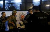 Թուրքիայում ձերբակալված զինծառայողներից 1200-ը ազատ են արձակվել