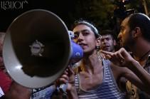 Ձերբակալվել է ակտիվիստ Անի Նավասարդյանը, խափանման միջոցը դեռ հայտնի չէ. Փաստաբան