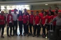 В Рио-де-Жанейро отправилась первая группа армянских спортсменов