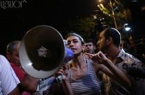Освобождена активистка «Учредительного парламента» Ани Навасардян