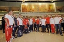 На Олимпиаду отправилась вторая группа армянских спортсменов