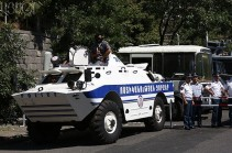 Խորենացի փողոցում առկա է լարվածության սրման վտանգ. Ոստիկանությունը կոչ է անում տեղափոխել հավաքները այլ վայր