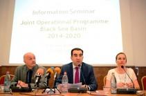 Երևանում մեկնարկել է Սևծովյան ավազանի երկրների անդրսահմանային համագործակցության նոր ծրագիրը