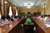 Концепция конституционных реформ НКР обсуждалась с представителями судебной системы