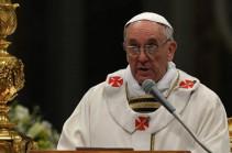 Հռոմի Պապ. Աշխարհը պատերազմի մեջ է