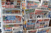 Թուրքիայում բազմաթիվ լրատվամիջոցներ են փակել