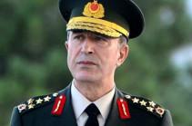 Թուրքիայի Գլխավոր շտաբի ղեկավարը կմնա իր պաշտոնին