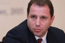 Замминистра обороны Армении отбыл в Москву