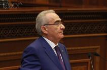 Галуст Саакян: Принятием Декларации о независимости Армении мы последовали за мечтой