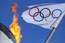 Օլիմպիական դրոշն արդեն Տոկիոյում է