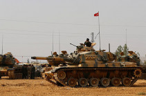 Թուրքիան ևս մի տանկային ստորաբաժանում է ուղարկել Սիրիա