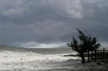 Ճապոնիայի Հոնսյու կղզուն հզոր թայֆուն է մոտենում