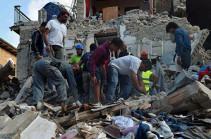 Իտալիայում փրկարարները փլատակների տակից դուրս են բերել երկրաշարժի ժամանակ ողջ մնացած 238 մարդու