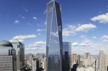 Նյու Յորքում Առևտրի համաշխարհային կենտրոնի շենքը լուսավորել են Իտալիայի դրոշի գույներով