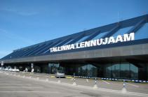Из аэропорта Таллина эвакуировали людей из-за сообщения о бомбе