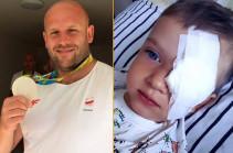 Поляк Малаховский продал медаль ОИ-2016 ради помощи больному раком ребёнку