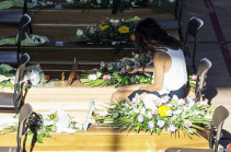 Իտալական Մարկեում հրաժեշտ են տալիս երկրաշարժի զոհերին