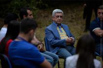 Սերժ Սարգսյան. Բռնությունը երբեք չի բերել լավ արդյունքներ