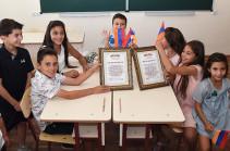 «Հայաստան» հիմնադրամը հիմնանորոգել է Նալբանդյան գյուղի դպրոցը