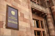 Очередное заседание правительства Армении состоится 2 сентября
