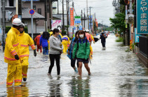Число погибших из-за тайфуна в Японии достигло 11 человек