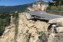 В Италии за неделю после землетрясения зафиксировали 3000 афтершоков