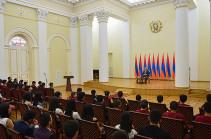 Սերժ Սարգսյան. Մենք կարողանալու ենք ասել, որ Հայաստանի գրեթե բոլոր շրջաններից ունենք համաշխարհային օլիմպիադաների հաղթողներ