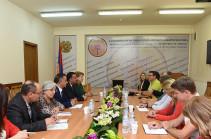 Արտեմ Ասատրյանը բարձր է գնահատել Հայկական և Շվեցարական Կարմիր Խաչի հետ համագործակցությունը