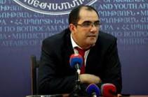 Новым министром спорта и по делам молодежи Армении назначен Грачья Ростомян