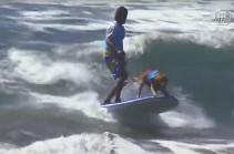 ԱՄՆ-ում անցկացվել է շուն-սերֆերների մրցաշար (Տեսանյութ)