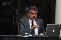 Премьер-министр Армении освободил Сурена Караяна от занимаемой должности