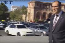Սպորտի նորանշանակ նախարարը կառավարության նիստի է գնում ոտքով. Տեսանյութ