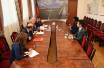 Վահան Մարտիրոսյանը Հայաստանում ներդրումների ավելացման հեռանկարը քննարկել է ՀԲ ներկայացուցիչների հետ