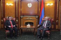 Գալուստ Սահակյանը Հայաստանում Վրաստանի նորանշանակ դեսպանի հետ քննարկել է հայ-վրացական հարաբերությունները