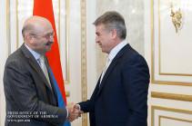 ՀՀ վարչապետն ընդունել է «ВТБ 24» բանկի նախագահին